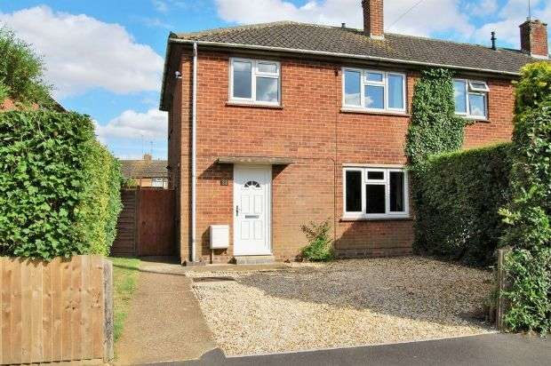 3 Bedrooms Semi Detached House for sale in Wordsworth Road, Daventry, Northampton NN11 9BH