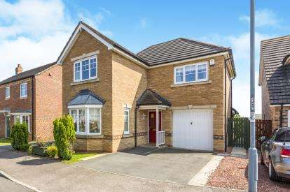 3 Bedrooms Detached House for sale in Village Gate, Crook, Durham, County Durham, DL15