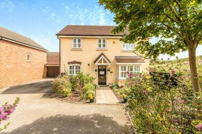 3 Bedrooms Detached House for sale in Jacombe Close, Warwick, .