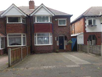 3 Bedrooms Semi Detached House for sale in Allendale Road, Birmingham, West Midlands