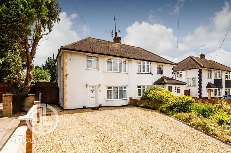 3 Bedrooms Semi Detached House for sale in Cambridge Road, Hitchin, SG4 0JN