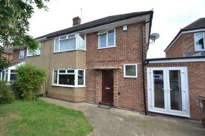 4 Bedrooms Semi Detached House for sale in Fourth Avenue, Wellingborough, Northamptonshire