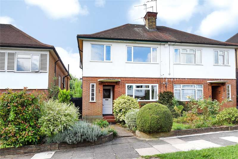 2 Bedrooms Maisonette Flat for sale in Holwell Place, Pinner, Middlesex, HA5