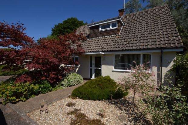 4 Bedrooms Detached Bungalow for sale in Godolphin Close, Newton St. Cyres, Exeter, Devon