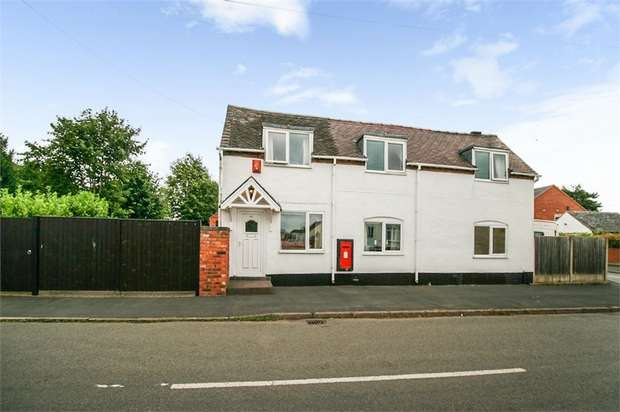 4 Bedrooms Cottage House for sale in Church Street, Coton-in-the-Elms, Swadlincote, Derbyshire