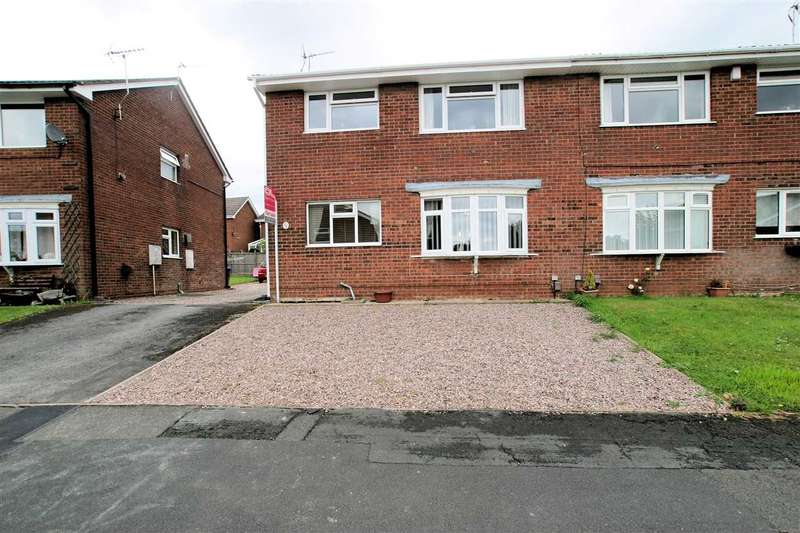 2 Bedrooms Maisonette Flat for sale in Holly Drive, Ash Bank, Stoke on Trent