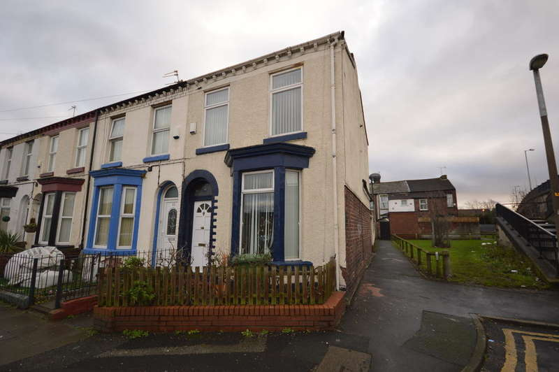 3 Bedrooms End Of Terrace House for sale in Thomson Road, Liverpool, L21