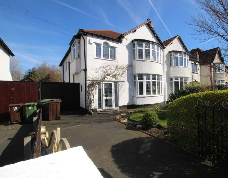 4 Bedrooms Semi Detached House for sale in Little Crosby Road, Crosby, Liverpool, L23
