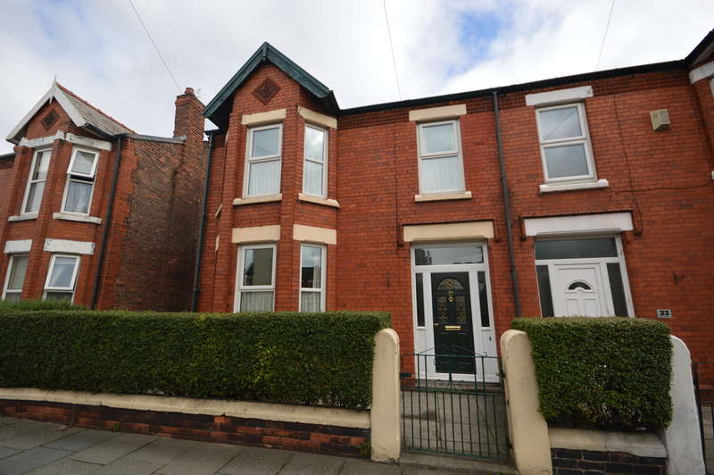 4 Bedrooms Semi Detached House for sale in Sandringham Road, Liverpool, L22