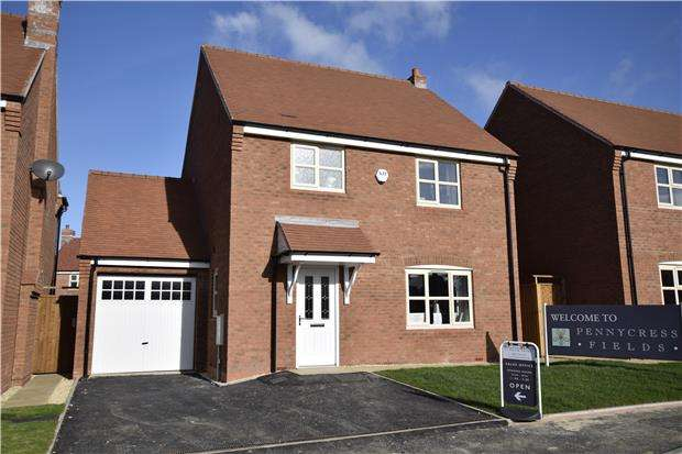 3 Bedrooms Detached House for sale in The Sudeley, Pennycress Fields, Stoke Orchard.