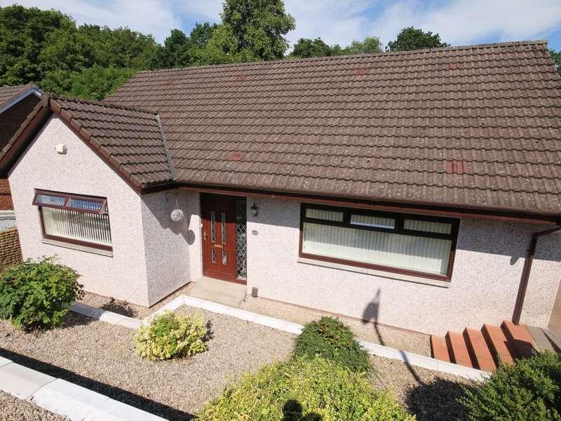 4 Bedrooms Detached Bungalow for sale in 5 Glengavel Gardens, Wishaw, ML2 8TE