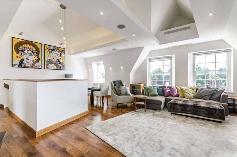 3 Bedrooms Penthouse Flat for sale in Bedford Row, Bloomsbury, WC1R