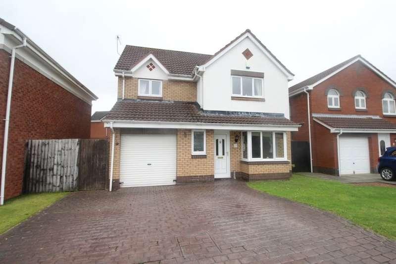 4 Bedrooms Detached House for sale in Skiplam Close, Hemlington, Middlesbrough, TS8