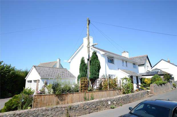 3 Bedrooms Semi Detached House for sale in Appletree Cottages, West Street, Denbury, Newton Abbot