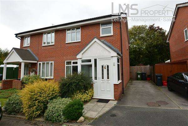 3 Bedrooms Semi Detached House for sale in The Maples, Winsford