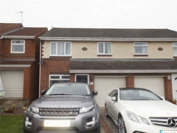 3 Bedrooms Semi Detached House for sale in Swanage Drive, Redcar, North Yorkshire