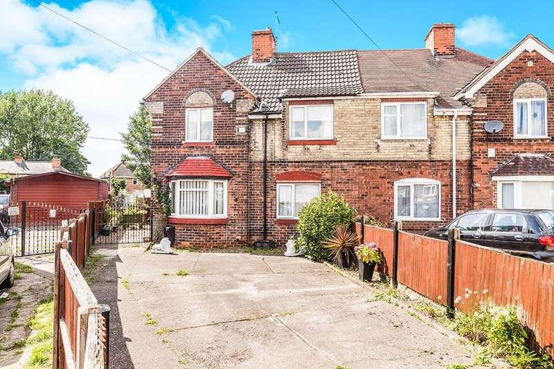 3 Bedrooms Semi Detached House for sale in Norfolk Drive, Bircotes, Doncaster, DN11