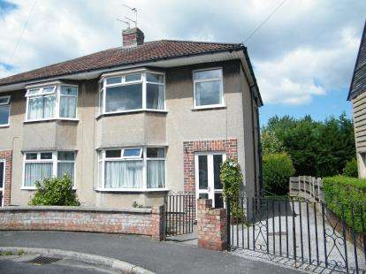 3 Bedrooms Semi Detached House for sale in Sherston Close, Fishponds, Bristol