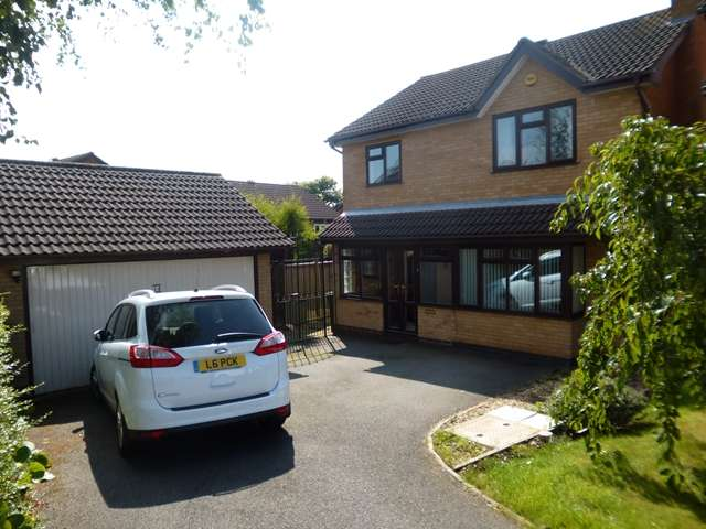 4 Bedrooms Detached House for sale in Granary Close, Glenfield, Leicester. LE3