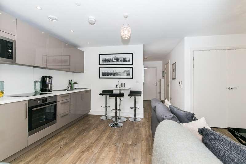 1 Bedroom Flat for sale in Hannaford Walk, London, London, E3