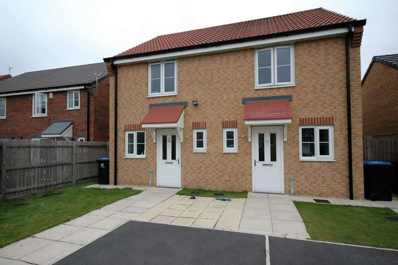 2 Bedrooms Semi Detached House for sale in Blenheim Road South, Middlesbrough, County Durham, TS4
