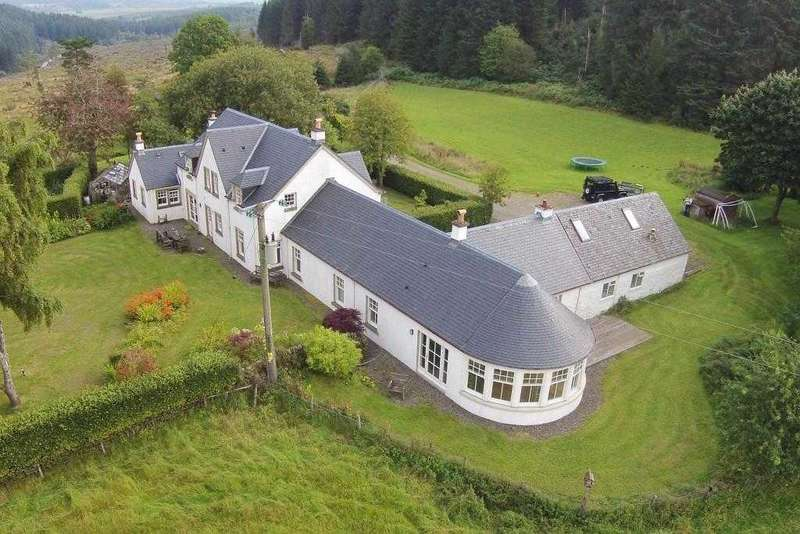 6 Bedrooms Detached House for sale in Gartloaning, Gartmore, Aberfoyle