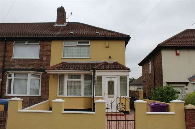 2 Bedrooms Semi Detached House for sale in Grieve Road, Liverpool, Merseyside