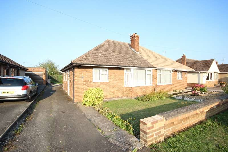 2 Bedrooms Semi Detached Bungalow for sale in Ridgeway , Wellingborough, Northamptonshire. NN8 4RX