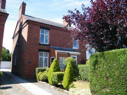 2 Bedrooms Semi Detached House for sale in Weaverham Road, Sandiway, Northwich, Cheshire