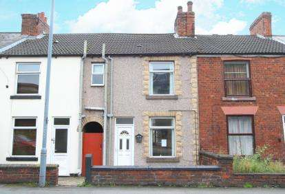 2 Bedrooms Terraced House for sale in Chatsworth Road, Chesterfield, Derbyshire