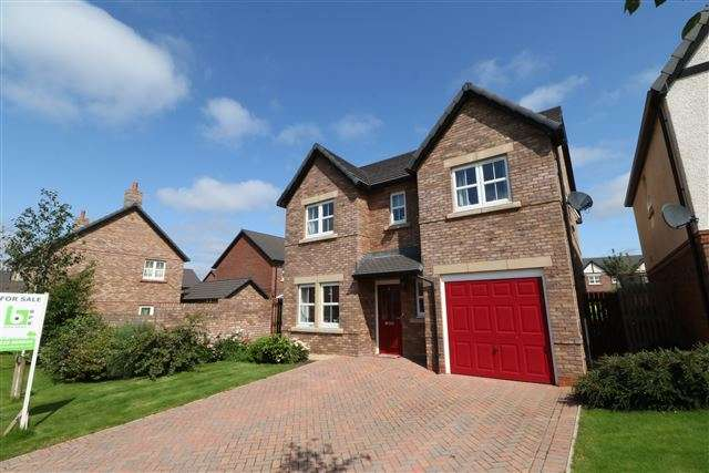 4 Bedrooms Detached House for sale in Charlton Way, Kingstown, Carlisle, Cumbria, CA6 4EU