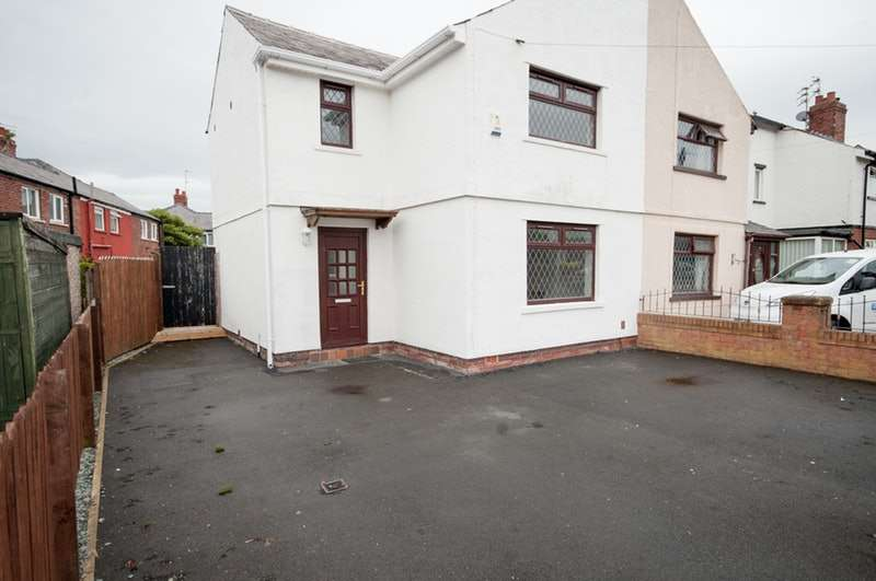 3 Bedrooms Semi Detached House for sale in Annesley Ave, Blackpool, Lancashire, FY3