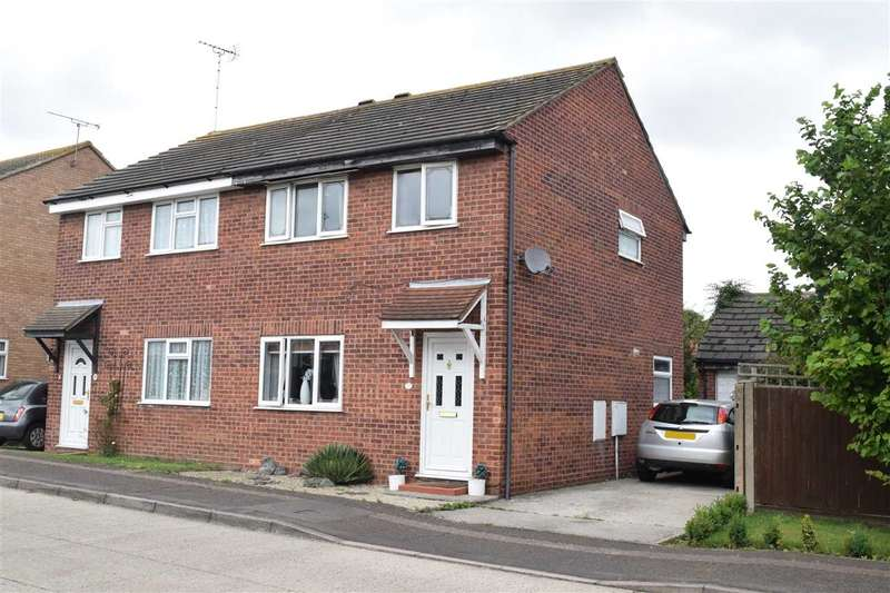 3 Bedrooms Semi Detached House for sale in Hollis Lock, Chelmsford
