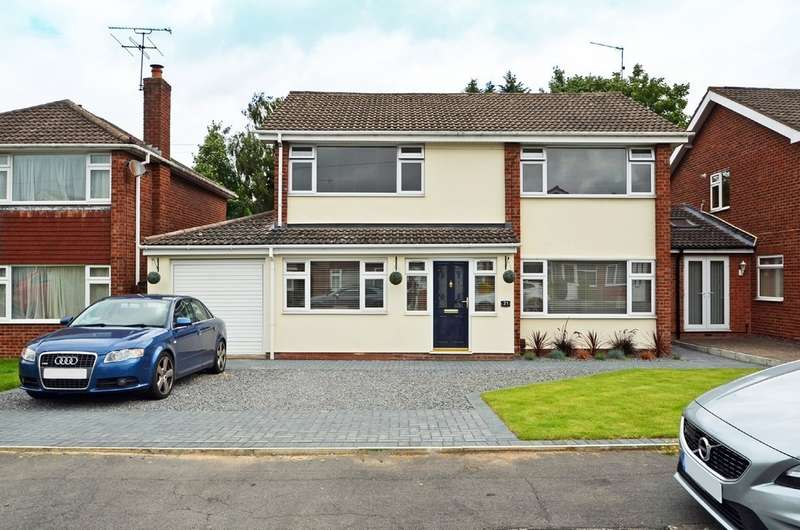 5 Bedrooms Detached House for sale in Gainsborough Crescent, Hillmorton, Rugby