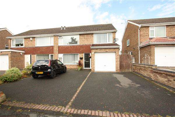 4 Bedrooms Semi Detached House for sale in Summertrees Road, Ellesmere Port