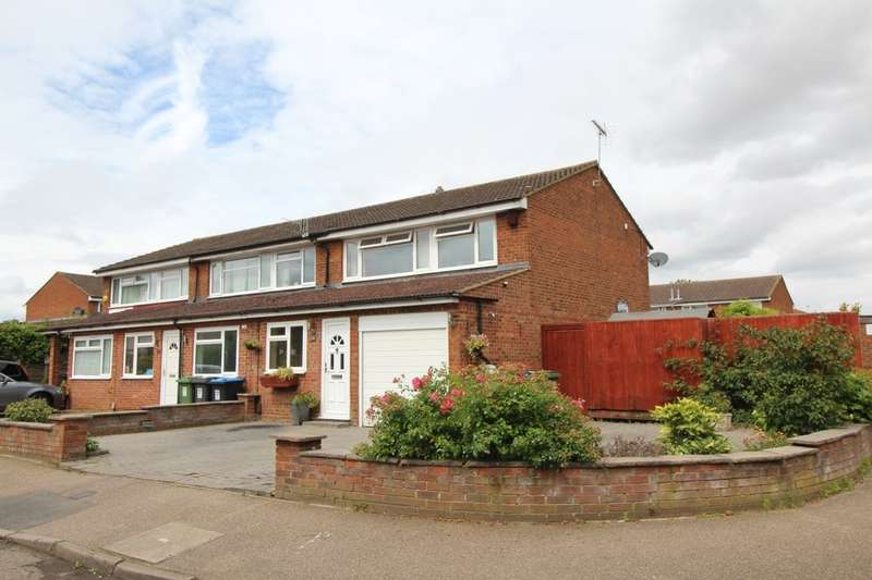3 Bedrooms Semi Detached House for sale in Epping Green, Woodhall Farm, Hemel Hempstead, HP2