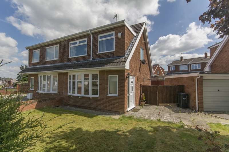 3 Bedrooms Semi Detached House for sale in Florita Close, Deeside, Flintshire, CH5