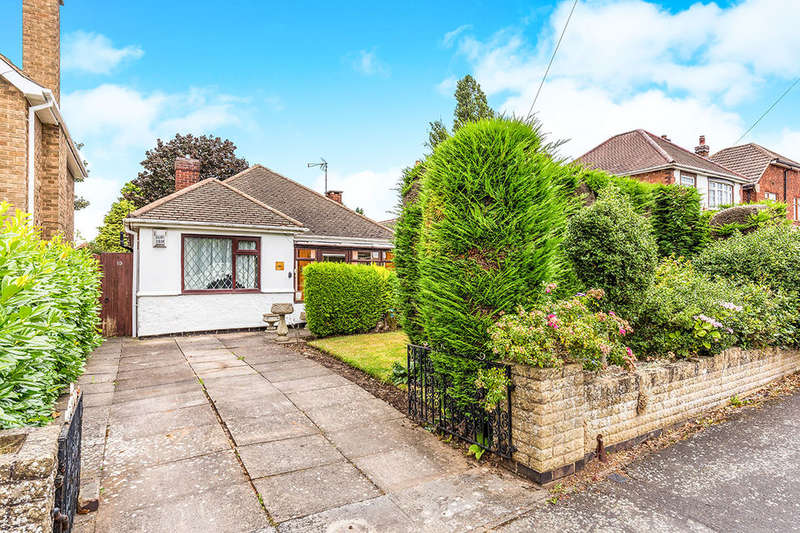 2 Bedrooms Detached Bungalow for sale in Brame Road, Hinckley, LE10