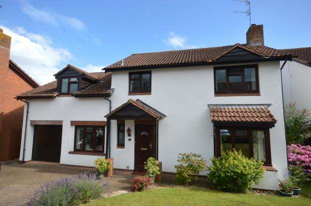 4 Bedrooms Detached House for sale in Lark Rise, Newton Poppleford, Sidmouth, Devon