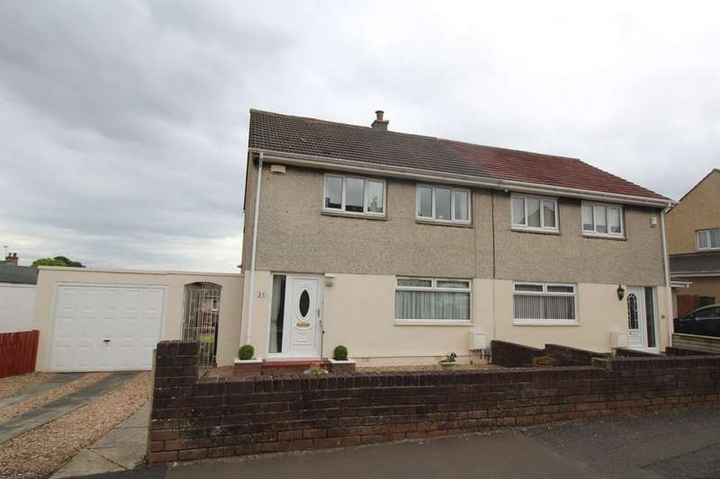3 Bedrooms Semi Detached House for sale in Alder Avenue, Hamilton, ML3