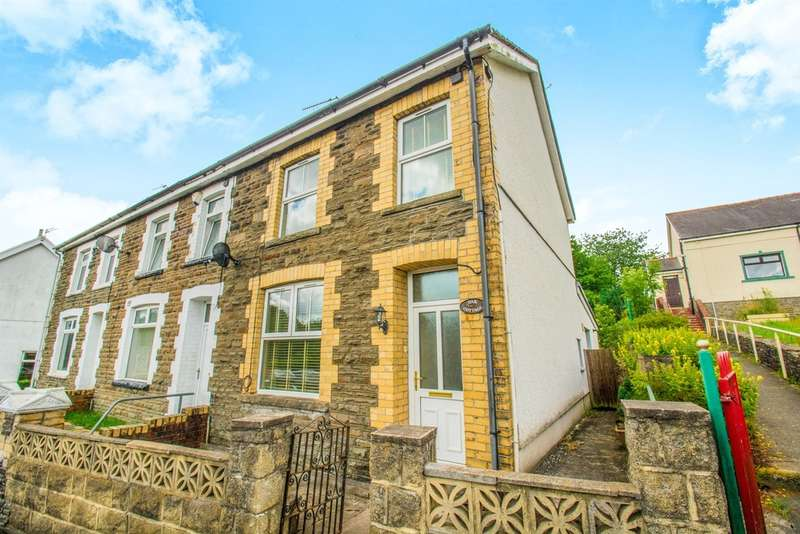 2 Bedrooms End Of Terrace House for sale in Gwerthonor Road, Gilfach, Bargoed