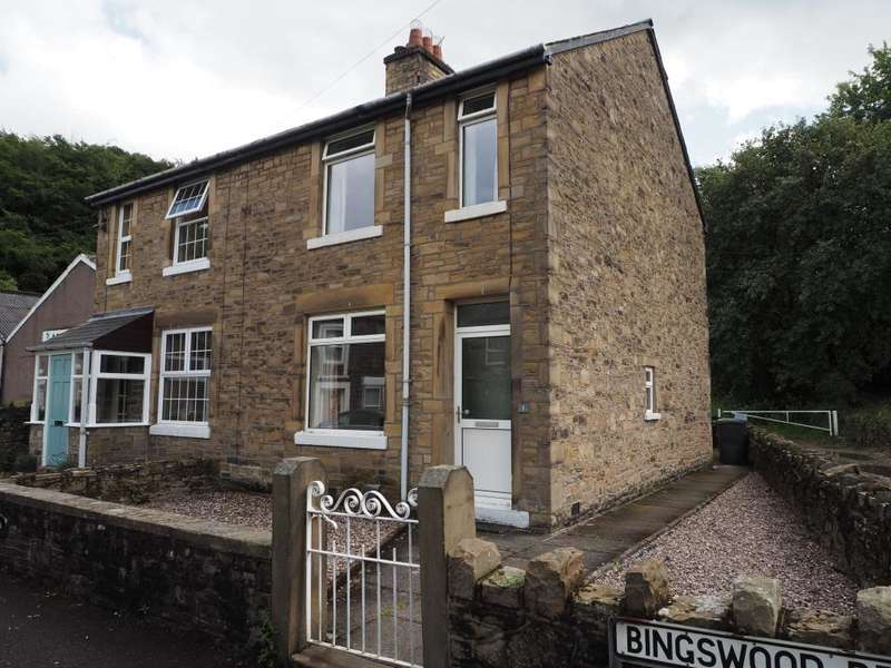 2 Bedrooms Semi Detached House for sale in Bingswood Road, Whaley Bridge, High Peak, Derbyshire, SK23 7NB