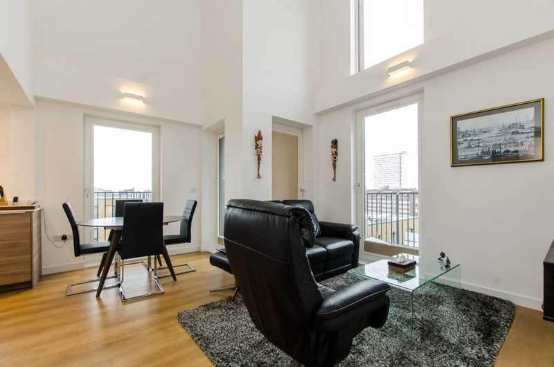 3 Bedrooms Flat for sale in Whiting Way, Canada Water, SE16