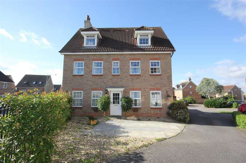 5 Bedrooms Detached House for sale in Herbert Close, Sudbury