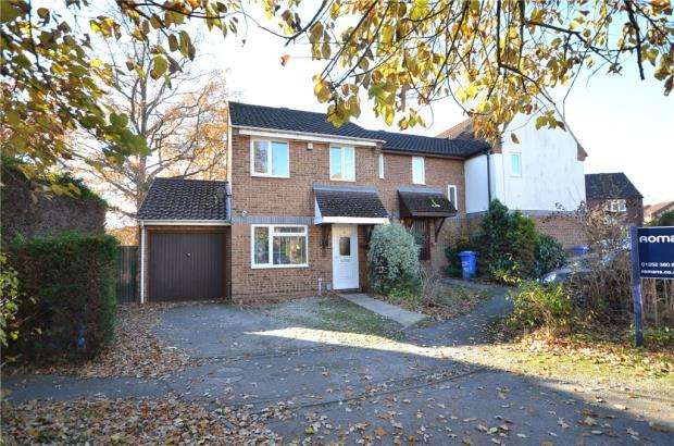 3 Bedrooms End Of Terrace House for sale in Angora Way, Fleet, Hampshire