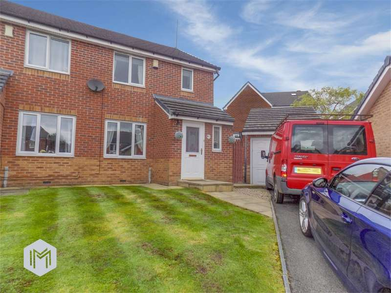 3 Bedrooms Semi Detached House for sale in Whiteoak View, Bolton, BL3