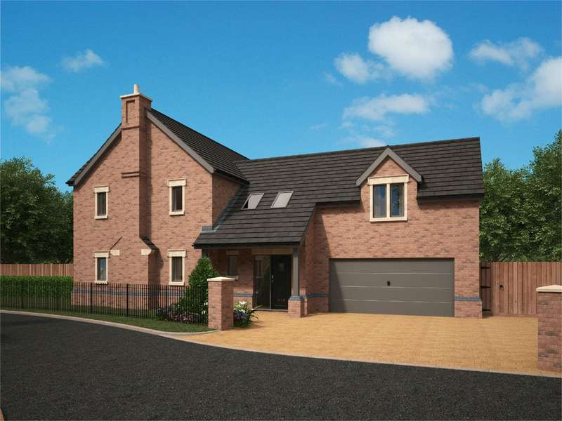 4 Bedrooms Detached House for sale in Flaxmoss Gardens, Helmshore, Rossendale, BB4