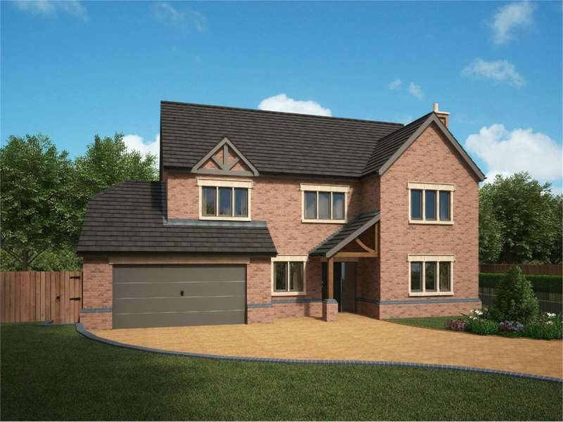 5 Bedrooms Detached House for sale in Flaxmoss Gardens, Helmshore, Rossendale, BB4
