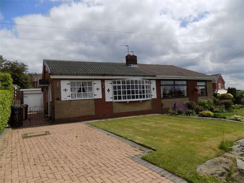 2 Bedrooms Semi Detached Bungalow for sale in Claypool Road, Horwich, Bolton, BL6