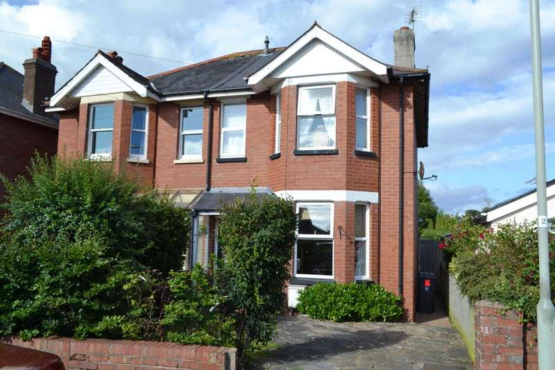 3 Bedrooms Semi Detached House for sale in Hamilton Road, Exmouth